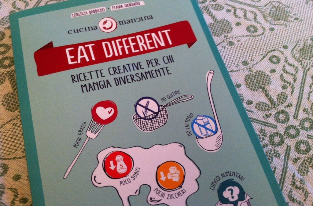 Eat different il libro di CucinaMancina.com