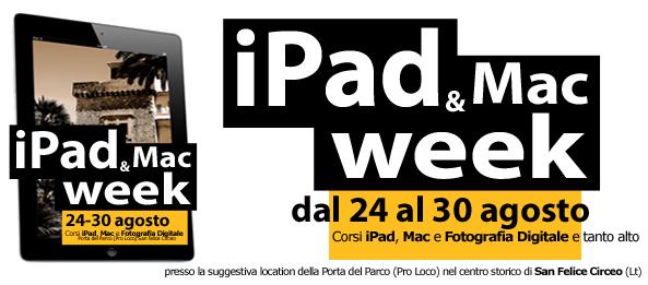 iPad & Mac week al Circeo